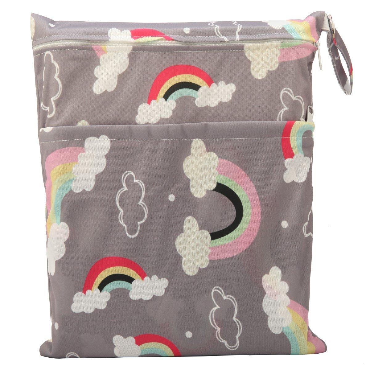 Sigzagor Medium half Wet Dry Bag Max 87% OFF Baby Insert Nappy R Cloth Diaper