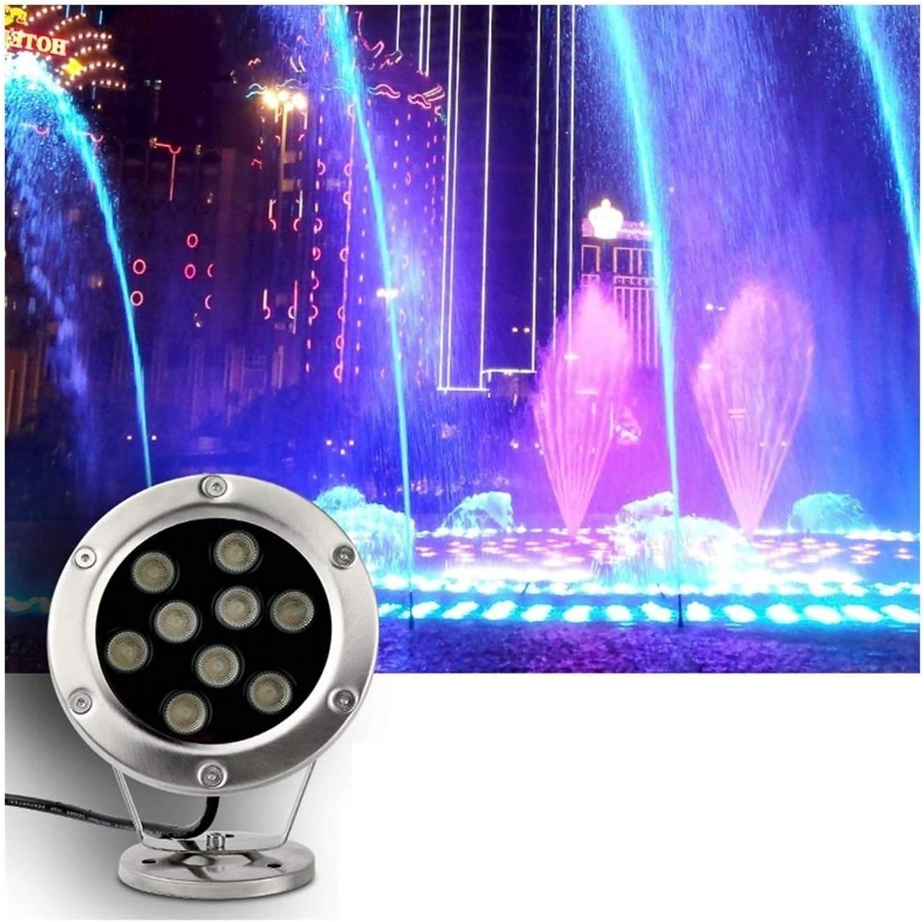 Well Direct stock discount Lights IP68 Landscape LEDunderw Lights304 Steel Stainless SALENEW very popular!