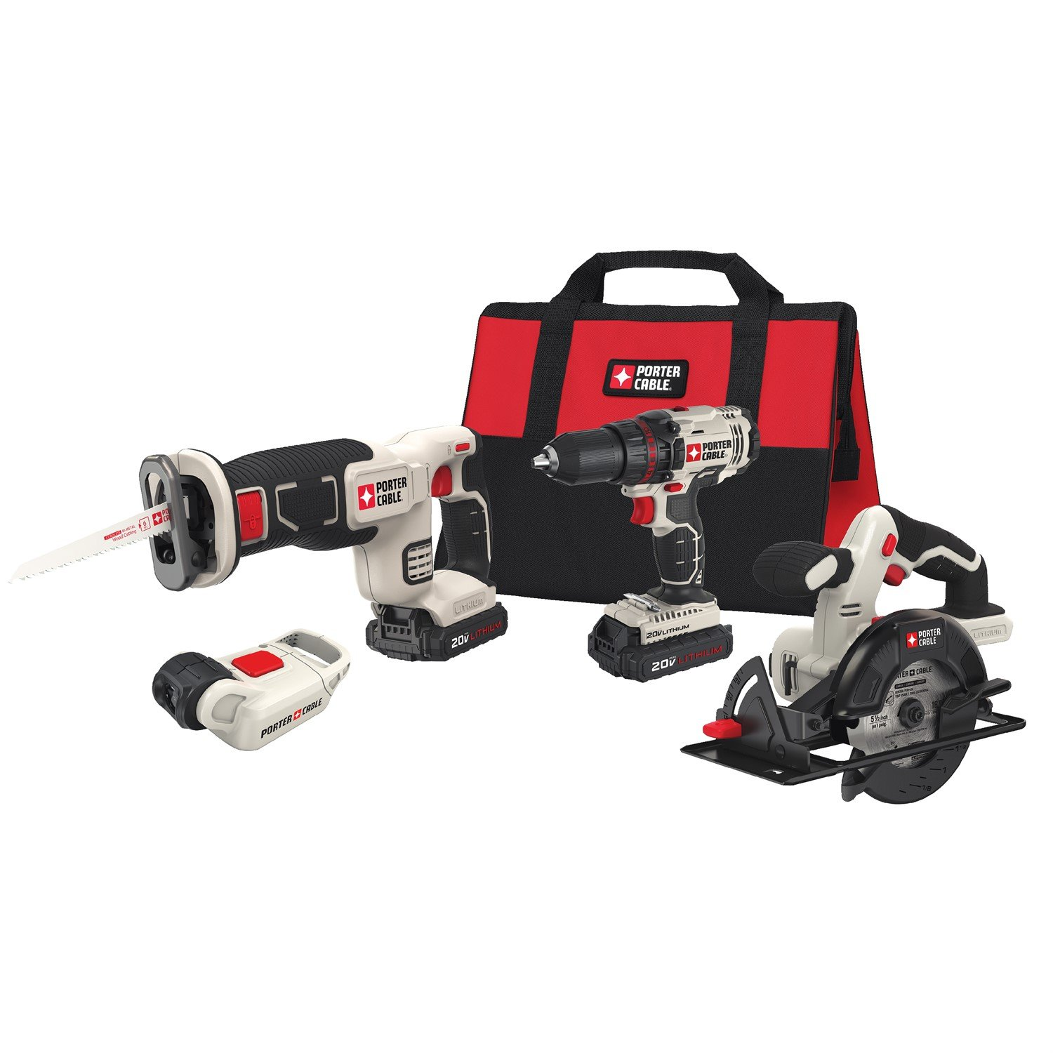 PORTER CABLE PCCK616L4 Power Tool Combo