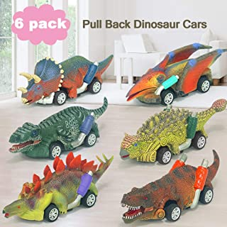 Toys for 3 4 5 6 7 Years Old Boys,Dinosaur cars toys Cars Vehicles New Model,Kids Toys Age 3-8,Pull Back animal Animal Veh...