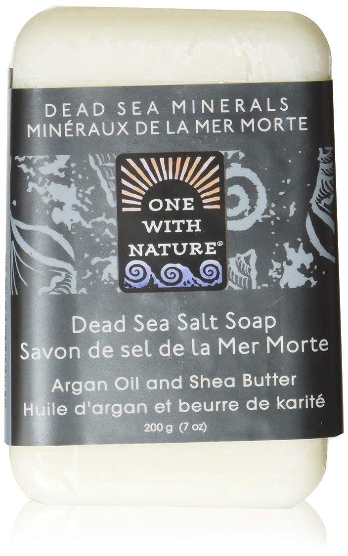 ぐるぐる軽くクランプDead Sea Mineral Dead Sea Salt Soap - 7 oz by One With Nature