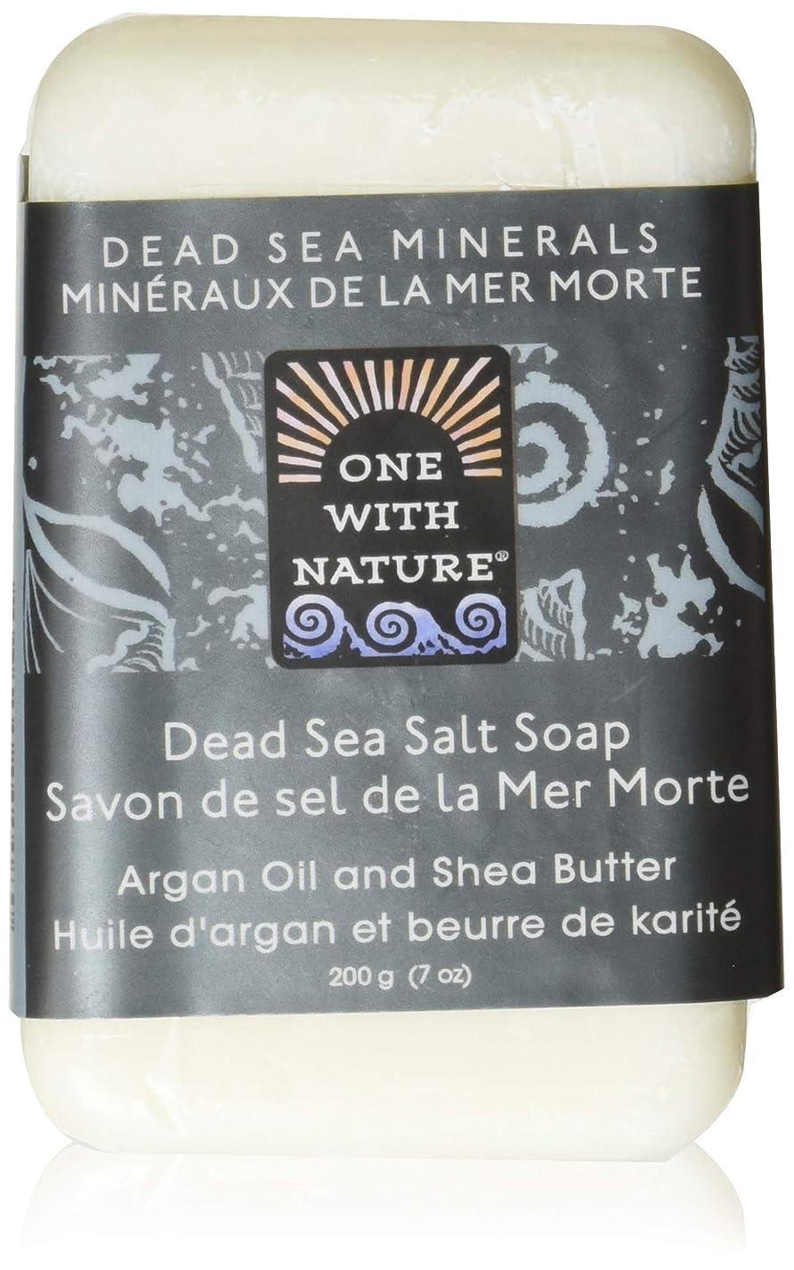 貧困ブルジョンカウントDead Sea Mineral Dead Sea Salt Soap - 7 oz by One With Nature