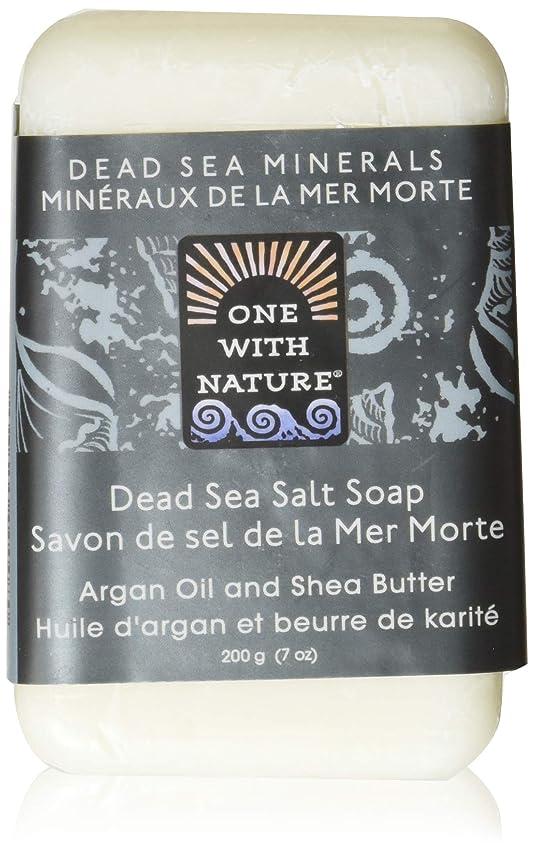 毎日不機嫌クレジットDead Sea Mineral Dead Sea Salt Soap - 7 oz by One With Nature