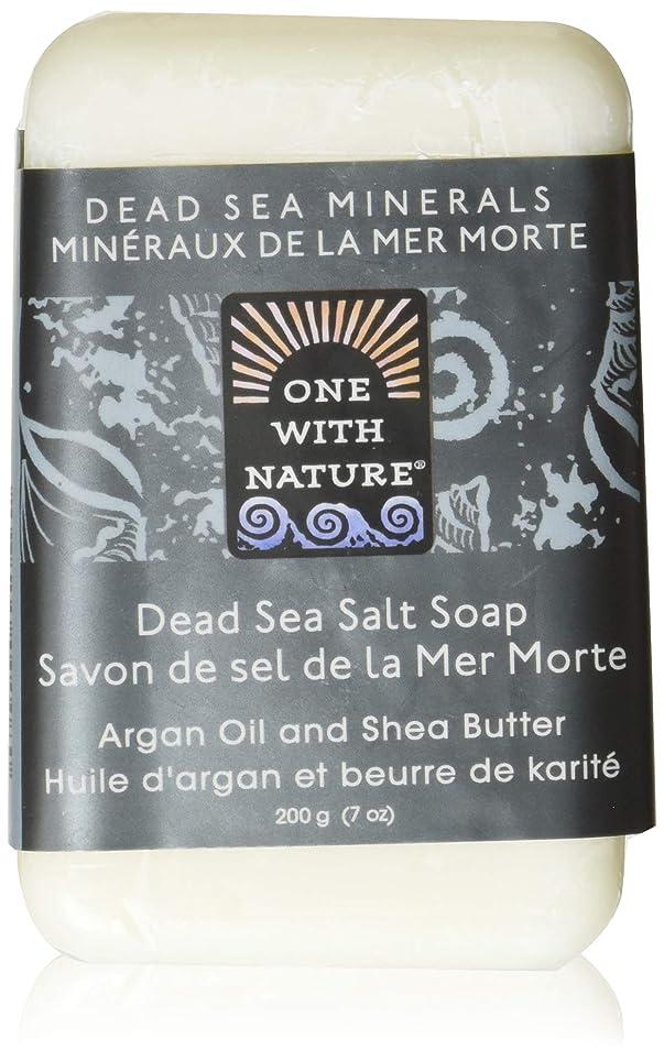 エイリアス余剰敵Dead Sea Mineral Dead Sea Salt Soap - 7 oz by One With Nature