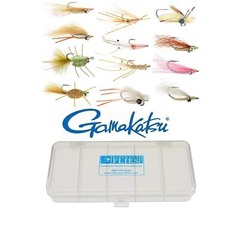 Fly Fishing Flies Softy Minnow Green Bonefish, Trout, Redfish, Bass 3 flies