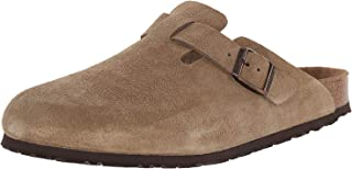 Unisex Boston Soft Footbed Leather Clog