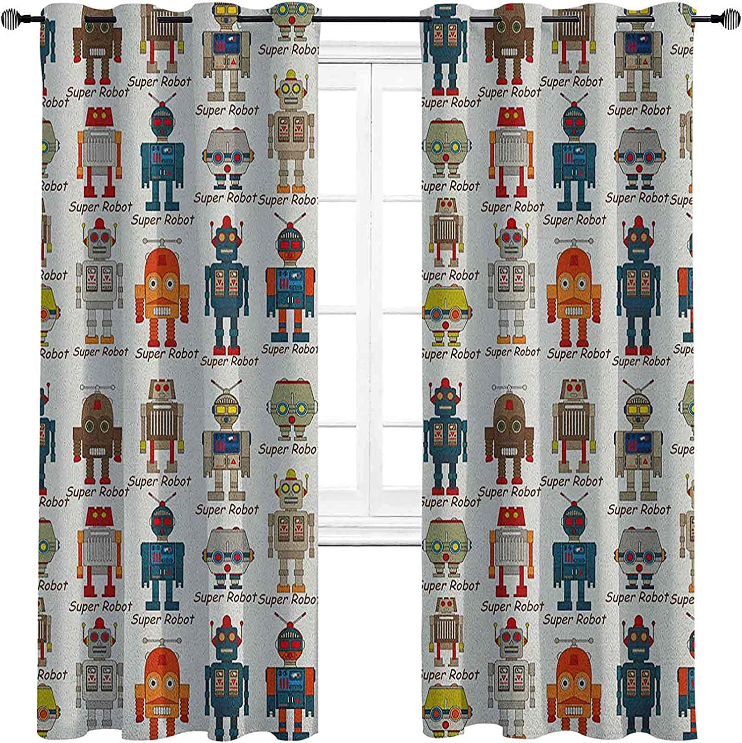 Large special price !! Max 51% OFF Kids Blackout Curtains with Grommets S darken Various Different