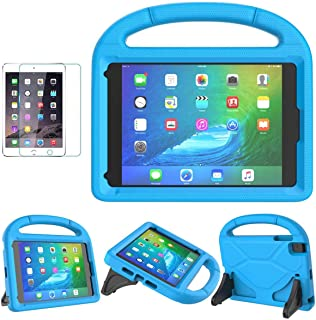 iPad Mini 1/2/3/4/5 Case for Kids, SUPLIK Durable Shockproof Protective Handle Bumper..