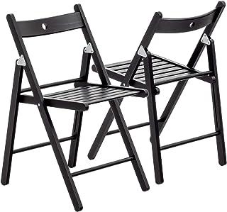 Schwarz 45.72 x 44.45 x 80.01 cm Flash Furniture Klappstuhl