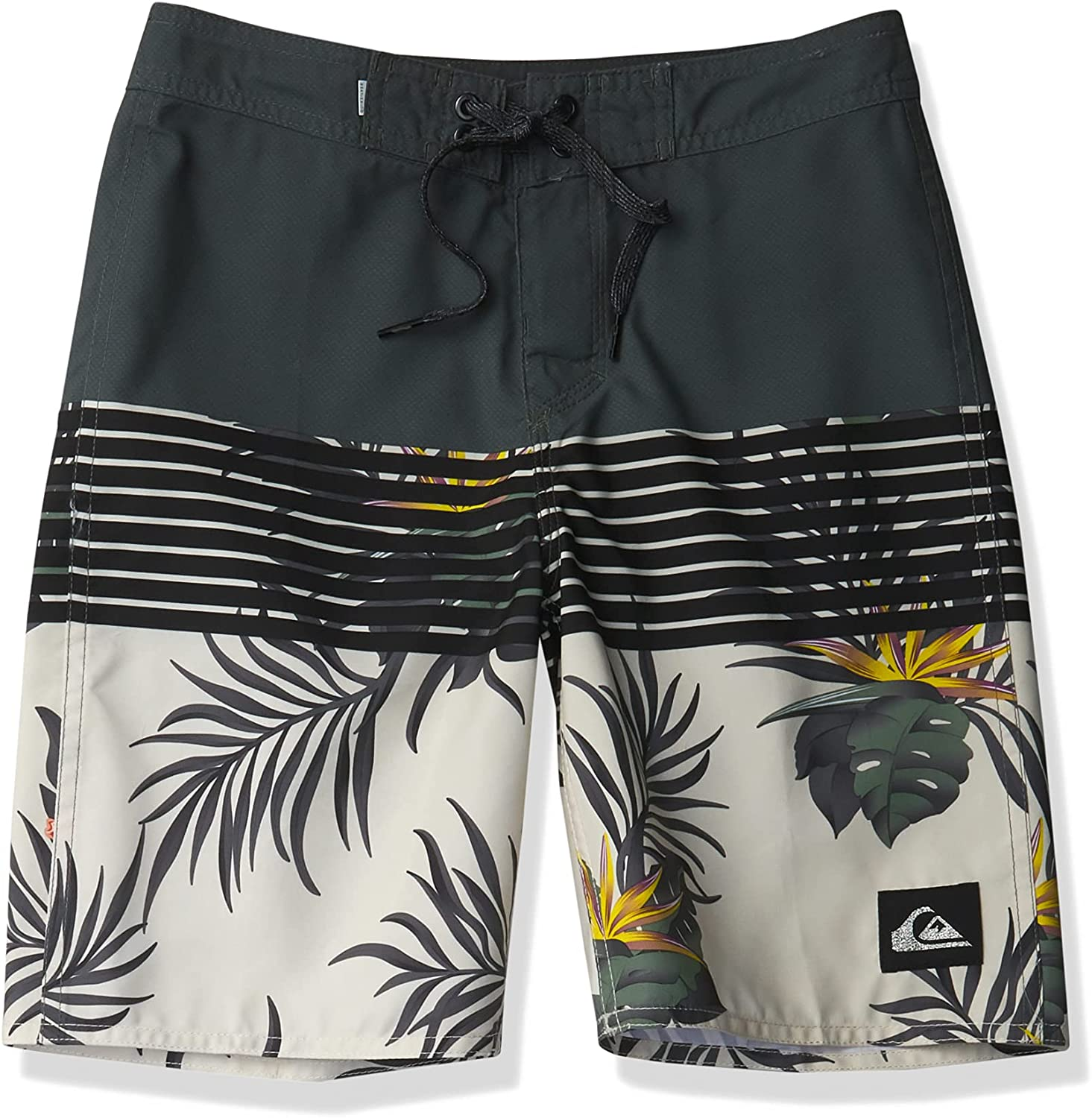 Quiksilver Boys' Everyday Division Youth 18 Boardshort Swim Trunk