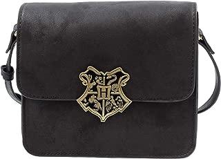 Harry Potter Hogwarts School Crest Faux Leather Crossbody Bag Purse