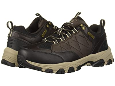 SKECHERS Relaxed Fit Selmen Helson (Chocolate) Men