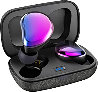 Sontinh CoolBuds True Wireless Earbuds, Bluetooth 5.0 Earphones with 66FT Range & Mini Case, TWS Stereo Headphones with 20H Playtime, Total Bluetooth Earbuds with IPX5 Waterproof Multi