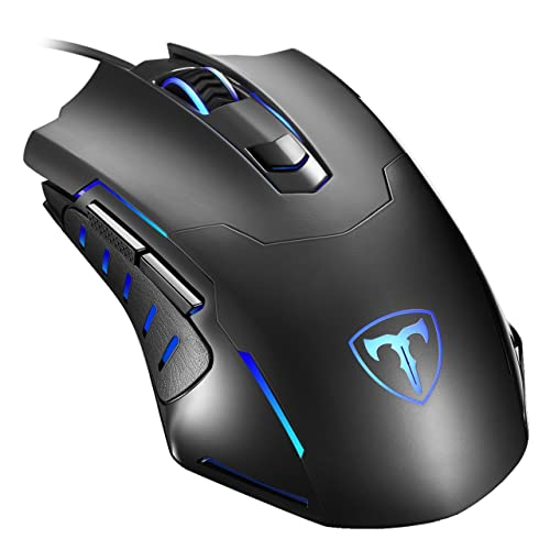 813159e38c0 Gaming Mouse Wired, Pictek 6 Buttons Ergonomic Optical USB Mouse PC Computer  Gaming Mice [
