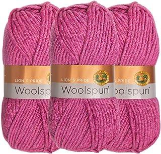 Pack of 3 skeins Cherry Blossom Lion Brand Yarn 790-427 Homespun Yarn