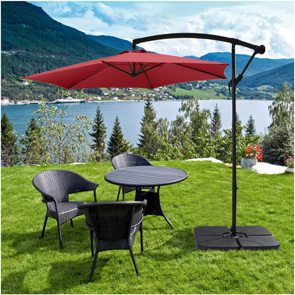 ZFLL Patio Umbrella Portable Outdoor Table Market Fort Worth Mall Umbre Max 66% OFF