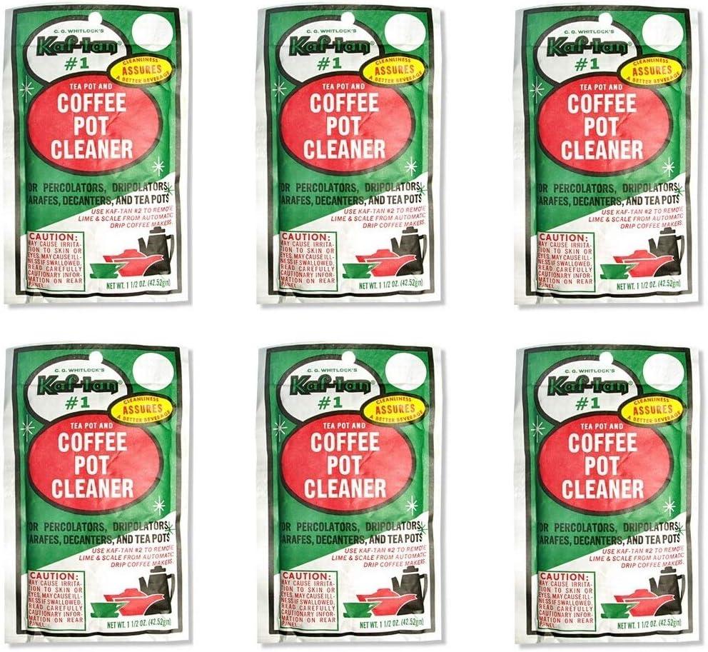 C. G. Whitlock's Kaf-tan KT-1 Coffee and Pot Manufacturer regenerated product Tea Cleaner P Japan Maker New 6
