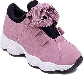 Eversassy Women's Woven/PVC Running Shoes