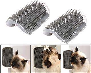 iMapo 2 Pack Cat Self Groomer, Cat Corner Groomer, Wall Corner Massage Comb, Pet Grooming Brush, Perfect Massager Tool for...
