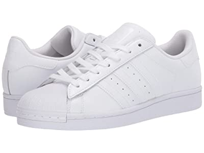 adidas Originals Superstar Foundation (Footwear White/Footwear White/Footwear White) Men