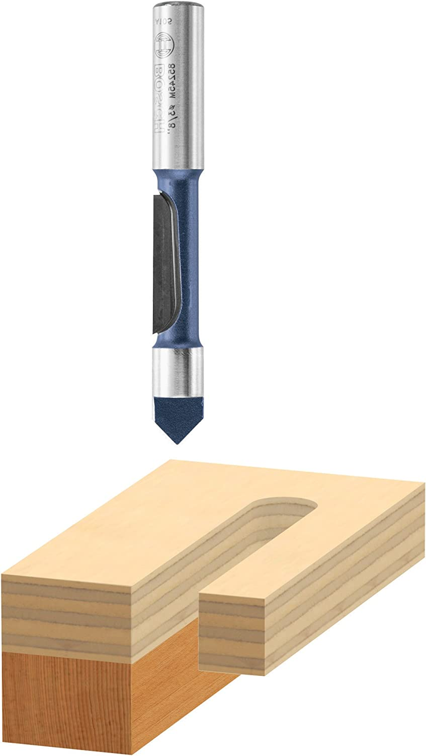 BOSCH 85246M Factory outlet 1 2 In. x 1-3 P 16 Fresno Mall Pilot 1-Flute Tipped Carbide
