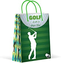 Premium Golf Party Bags, Sports Party Favor Bags, New, Treat Bags, Gift Bags, Goody Bags, Party Favors, Party Supplies, Decorations, 12 Pack
