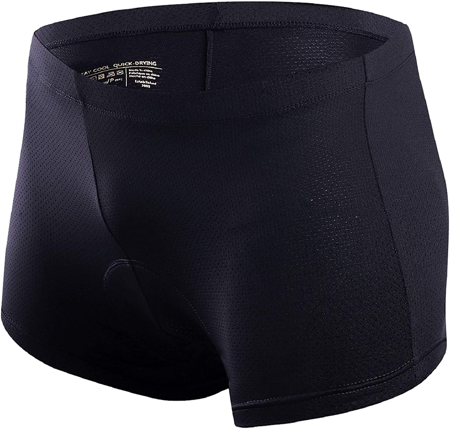DREAMYOGA Men's Cycling Max 50% OFF Underwear Shorts Mes Soft 3D Limited Special Price Padded