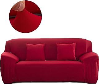 Cornasee Funda de sofá Elastica 3 plazas,Cubierta para sof
