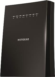 NETGEAR WLAN Mesh Repeater EX8000 WLAN Verstärker, AC3000 Tri Band WiFi, Abdeckung 5 bis 6 Räume & 50 Geräte, Geschwindigkeit bis zu 3000 MBit/s, smartes Mesh WLAN Roaming