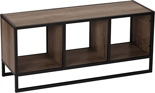 Household Essentials Ashwood Storage Shelf Coffee Table