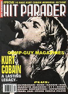 HIT PARADER MAGAZINE # 391 - APRIL 1997 KURT COBAIN'S LEGACY