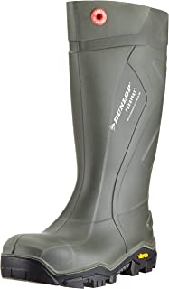 Dunlop Protective Footwear Dunlop Purofort Outlander, Bottes & bottines de sécurité Mixte adulte, Vert (Green), 40 EU