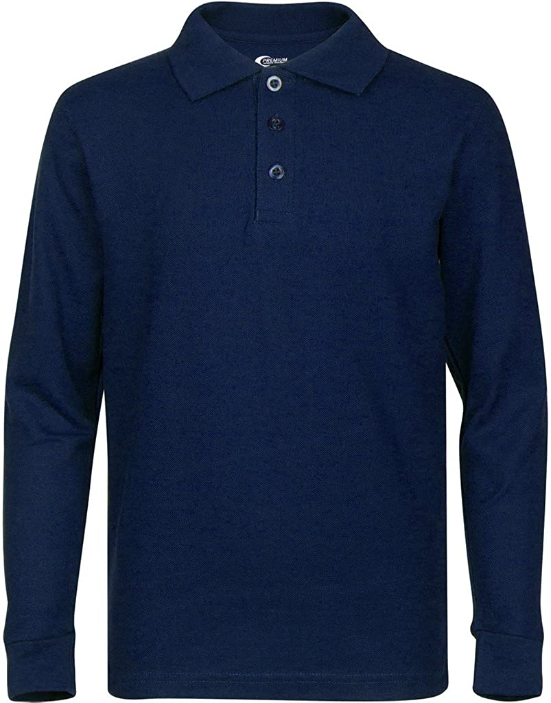 Premium Men's Long Sleeve Polo Max 75% OFF Guard Stain Shirts – free Po