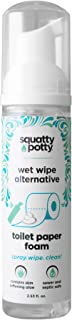 Squatty Potty Toilet Tissue Paper Foam Wet Wipe Alternative