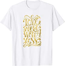 Love More Worry Less   Motivational Inspiring Quote ABC045
