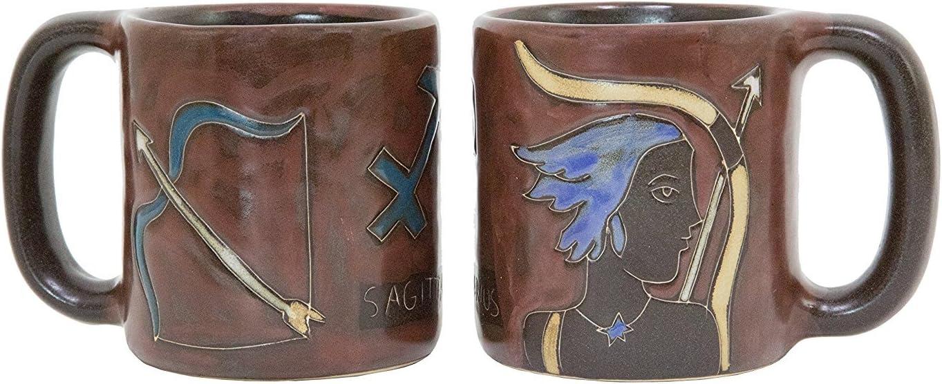 Mara Stoneware Zodiac Raleigh Mall Mug 16 specialty shop the -Sagittarius oz Archer