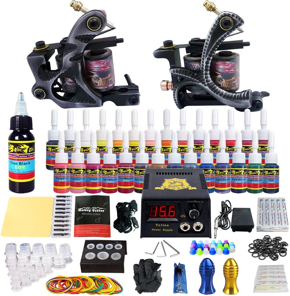 Solong Tattoo Kit for Beginners Selling and selling Machine Gun 2 Ranking TOP18 Pro Tat