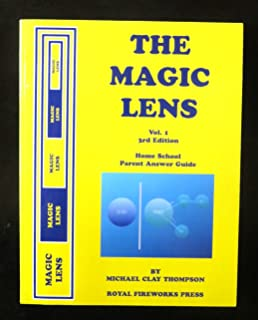 The Magic Lens Vol 1 Home School Parent Answer Guide
