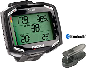 Mares Quad Dive Computer with PC Interface for Dive Link 2