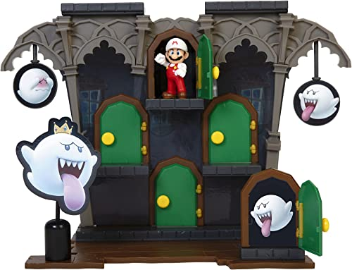 popular SUPER MARIO Action new arrival Figures online Deluxe Boo Mansion Playset outlet online sale