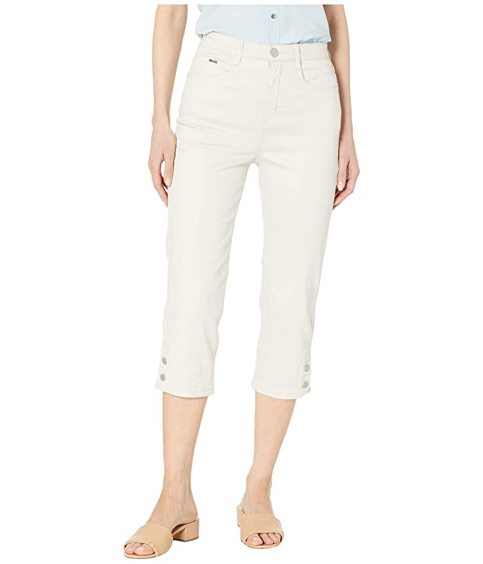 FDJ French Dressing Jeans Soft Hues Denim Suzanne Capris in Straw (Straw) Women