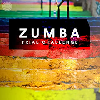 Zumba Trial Challenge -just 200 seconds x 4 songs fitness session-