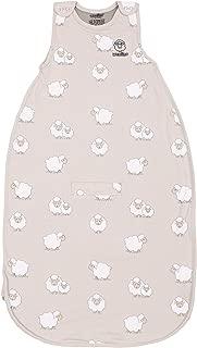Woolino 4 Season Baby Sleep Bag Sack, Australian Merino Wool Wearable Blanket, 2-24 Months, Sheep