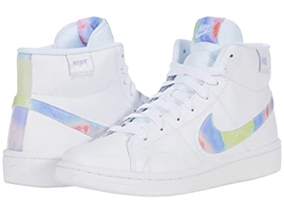 Nike Court Royale 2 Mid (White/Multicolor/Smoke Grey) Women