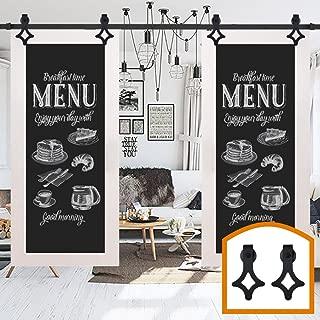 ZEKOO 7.5 FT Barn Door Hardware Sliding Doors Pocket Interior for Sale DIY Track Baldwin Closet Bifold