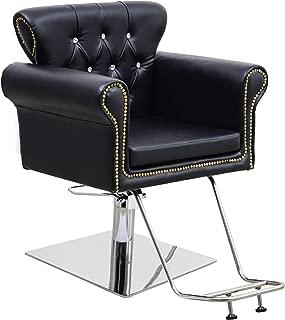 BarberPub Classic Hydraulic Barber Chair Antique Hair Spa Salon Styling Beauty Equipment 8899