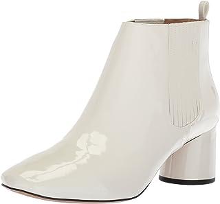 Marc Jacobs Women's Rocket Chelsea Boot, White, 35.5 M EU (5.5 US)