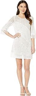 NIC+ZOE Women's Beach Stroll Dress, Paper White, Small Petite