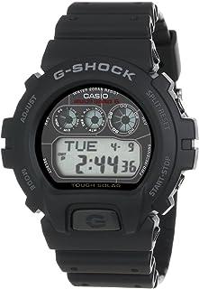 ساعة يد رجالي موديل جي-شوك من كاسيو ، رقمي ، مطاطي ، اسود ، DW6900NB-1