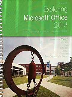 Exploring Microsoft Office 2013, Volume 1, Second Edition for Housatonic Community College